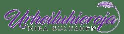Urheiluhireroja Mira Sulkanen logo